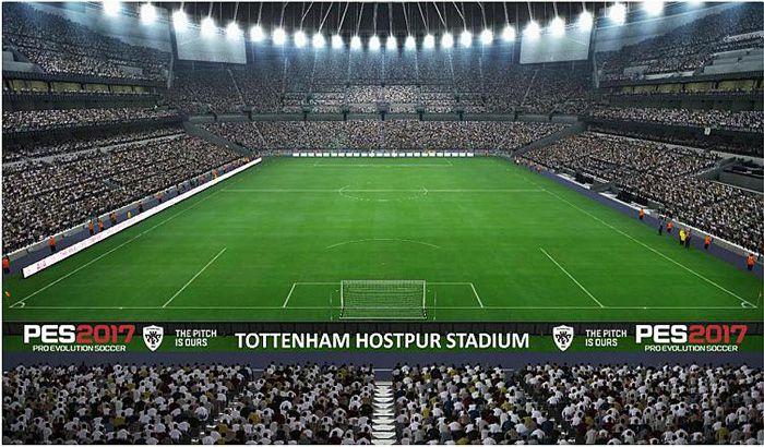 دانلود استادیوم جدید تاتنهام برای PES 2017 ( آپدیت جدید )