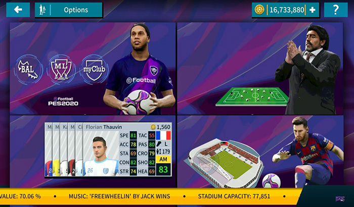 دانلود بازی Dream League 2019 مود eFootball PES 2020