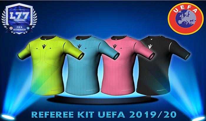 دانلود کیت داوران اروپایی فصل 2019/2020 برای FIFA 19