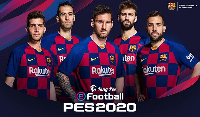 دانلود استارت اسکرین بارسلونا PES 2020 برای PES 2017 / 18 / 19