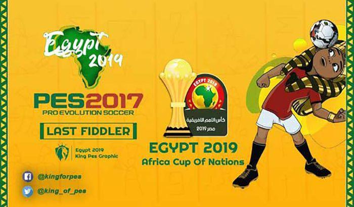 دانلود پچ گرافیک جام ملت های آفریقا 2019 برای PES 2017