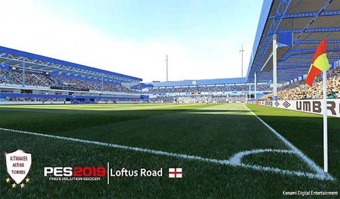دانلود استادیوم Loftus Road برای PES 2019 توسط lohan258