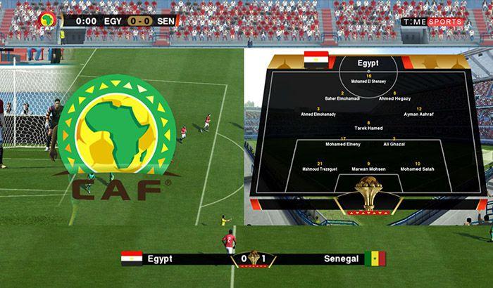 دانلود اسکوربورد جام ملت های آفریقا 2019 برای PES 2013