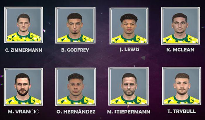 دانلود فیس پک نوریچ Norwich City برای PES 2017