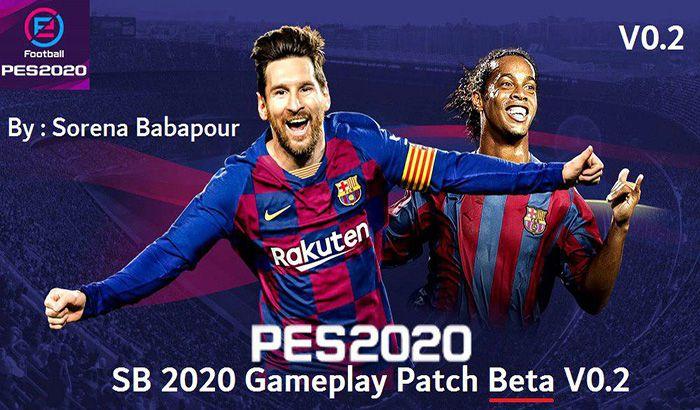 دانلود گیم پلی پچ SB 2020 Gameplay Beta V0.2 برای PES 2017