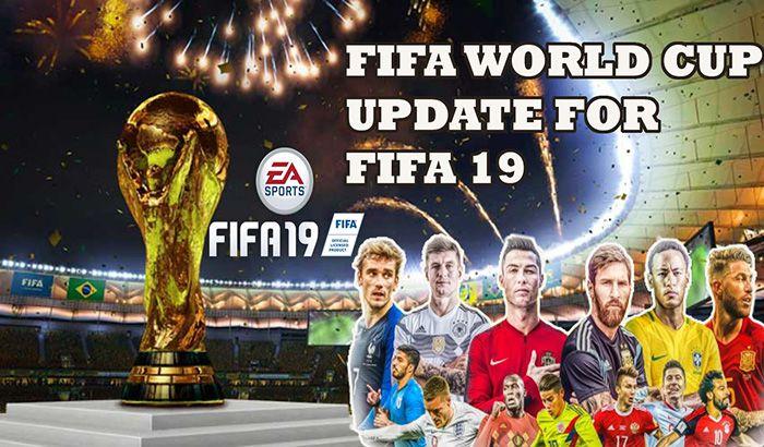 دانلود مود آپدیت جام جهانی برای FIFA 19 – برای PC
