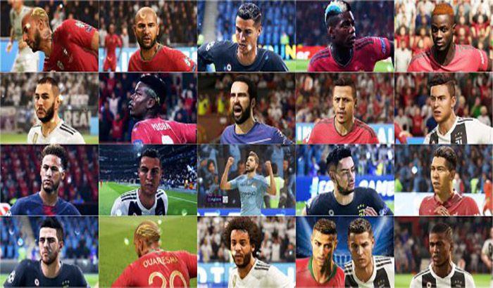دانلود Big Face Pack برای FIFA 19 توسط ibra012