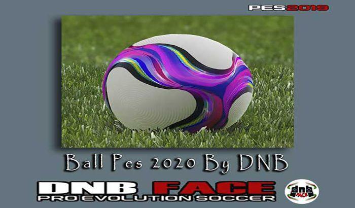 دانلود توپ PES 2020 برای PES 2019 توسط DNB