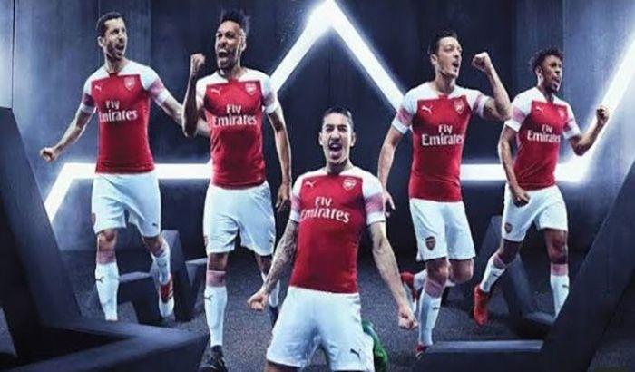 دانلود فیس پک Arsenal 2019/2020 برای PES 2017