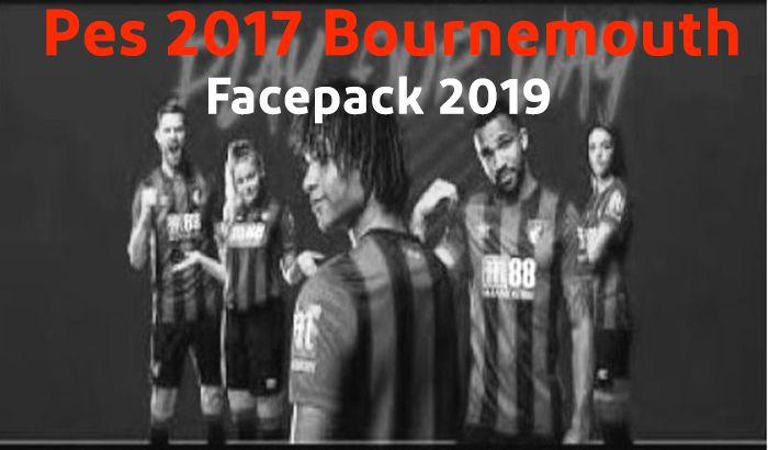 دانلود فیس پک 2019 Bournemouth برای PES 2017