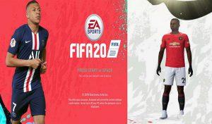 دانلود منو بازی FIFA 20 برای FIFA 19 توسط IYASZAEN