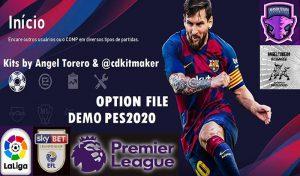 آپشن فایل eFootball PES 2020 برای PS4 توسط Emerson Pereira (مخصوص دمو)