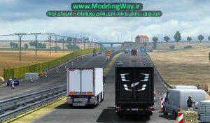 ماد بهبود تراکم ترافیک در بازی Euro Truck Simulator 2