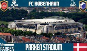 استادیوم Telia Parken برای PES 2017 توسط NaN RiddLe 08 ( استادیوم کپنهاگن دانمارک )
