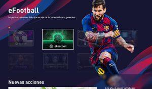 دانلود منو گرافیکی برای eFootball PES 2020 طراحی جدید توسط Txak