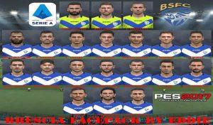 فیس پک Brescia Calcio برای PES 2017 فصل 2019/2020