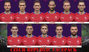 دانلود فیس پک تیم ملی چک Czech Republic برای PES 2017 – فصل 2019/2020
