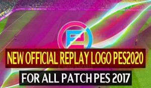 ریپلی لوگو اصلی PES 2020 برای PES 2017 توسط DzPlayZ