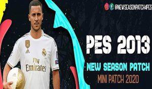 دانلود New Season 2020 Mini-Patch V1 برای PES 2013 ( پچ کم حجم 2020 برای PES 2013 )