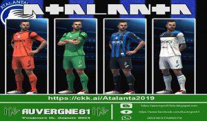 دانلود کیت پک Serie A برای PES 2013 فصل 2019/2020 توسط Auvergne81