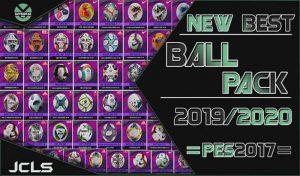 دانلود پک توپ فصل 2019/2020 برای PES 2017 توسط Prandra17