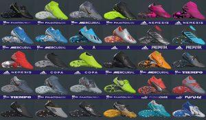 دانلود پک کفش V12 فصل 2019/2020 برای PES 2019