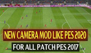 دانلود مود دوربین جدید PES 2020 برای PES 2017 توسط DzPlayZ