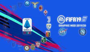 دانلود ماد گرافیکی Serie A برای FIFA 19 (ورژن 1.4)