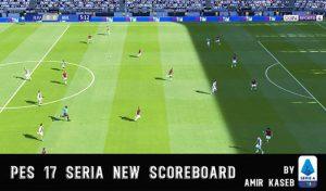 اسکوربورد Serie A برای PES 2017 فصل 2020