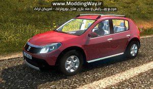 دانلود ماشین Dacia Sandero 2010 برای یورو تراک 2