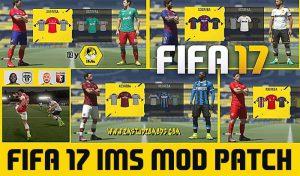 دانلود پچ IMS Mod 4.0 برای FIFA 17 – فصل 2020