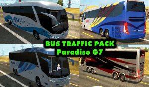 دانلود ماد پک ترافیک اتوبوس BUS Trafic G7 برای یورو تراک 2