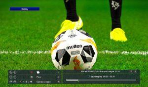 توپ Nike Moltem لیگ اروپا 2020 برای PES 2020 ورژن 2
