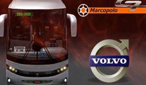 دانلود اتوبوس ولوو G7 1200 volvo FC برای یورو تراک 2