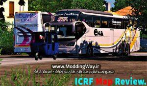 دانلود مپ ICRF Map Reworked برای یورو تراک 2