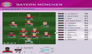 مینی فیس پک Bayern Munchen برای PES 2017