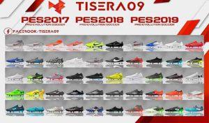 دانلود پک کفش BootPack V.16 برای PES 2017 توسط Tisera09