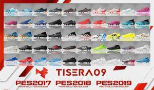 دانلود پک کفش BootPack V6 برای PES 2019 توسط Tisera09