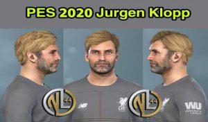 فیس Jürgen Klopp برای مسترلیگ PES 2020 توسط Nanilincol44