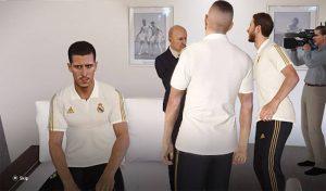 دانلود Polo Shirt رئال مادرید برای PES 2020 توسط Ginda01