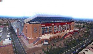 دانلود استادیوم Anfield برای PES 2020 + نمای بیرونی