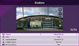 استادیوم Etihad Stadium برای PES 2020 با فرمت CPK