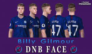 فیس Billy Gilmour برای PES 2020 و PES 2019