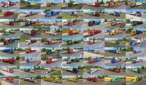 پک ترافیک کامیون های رنگی V8.6 برای یورو تراک 2