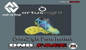 کفش OrtusEight Forte Instinct برای PES 2019 توسط DNB Face