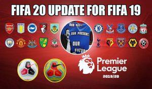 دانلود مود لیگ انگلیس FIFA 20 برای FIFA 19