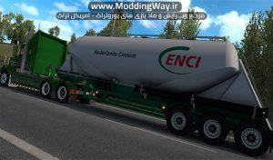 دانلود کامیون Kenworth T408 SAR v2.2 برای یورو تراک 2