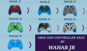 پک کنترلر XboX One رنگی برای PES 2017 توسط Wahab JR