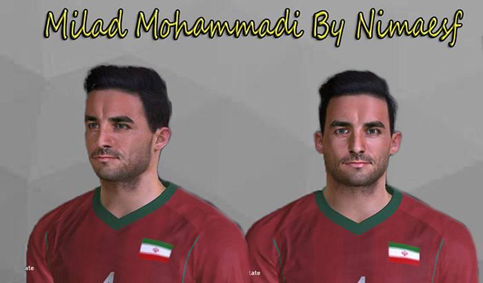 فیس میلاد محمدی برای PES 2017 توسط nimaesf