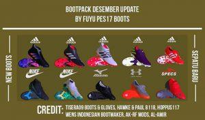 پک کفش Boot Repack AIO DECEMBER برای PES 2017